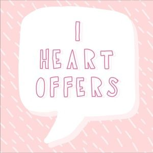I ❤️ OFFERS!!!! Accepting all reasonable offers!!
